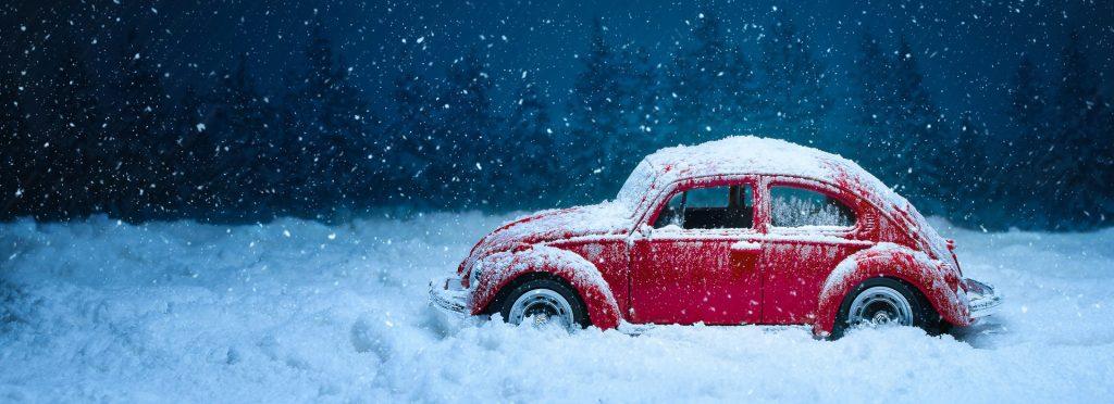 Car on a Snowy Holiday | Goodwill Car Donations
