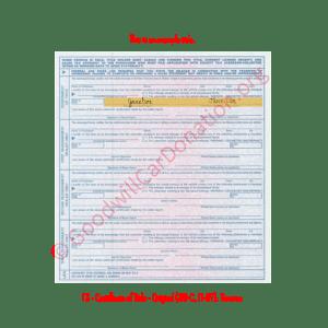 TX - Certificate of Title - Original (30-C, 11-97)- Reverse | Goodwill Car Donations
