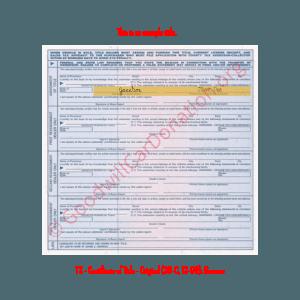 TX - Certificate of Title - Original (30-C, 12-99)- Reverse | Goodwill Car Donations