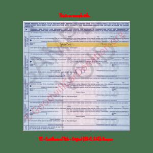 TX - Certificate of Title - Original (30-C, 3-15)- Reverse | Goodwill Car Donations