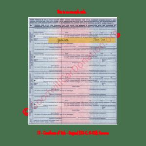TX - Certificate of Title - Original (30-C, 6-09)- Reverse | Goodwill Car Donations