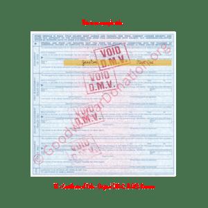 TX - Certificate of Title - Original (30-C, 8-92)- Reverse | Goodwill Car Donations