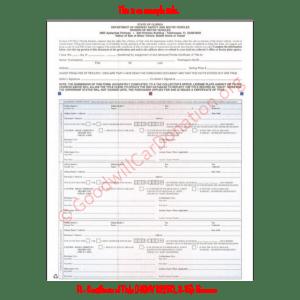 FL- Certificate of Title (HSMV 82250, 3-15)-Reverse | Goodwill Car Donations