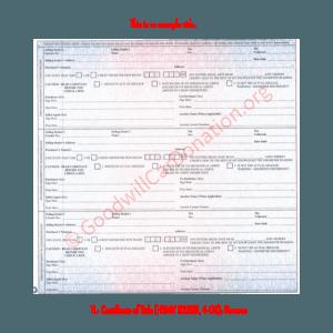 FL- Certificate of Title (HSMV 82250, 4-08)-Reverse | Goodwill Car Donations