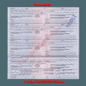 FL- Certificate of Title (HSMV 82251, 6-96) - Reverse | Goodwill Car Donations