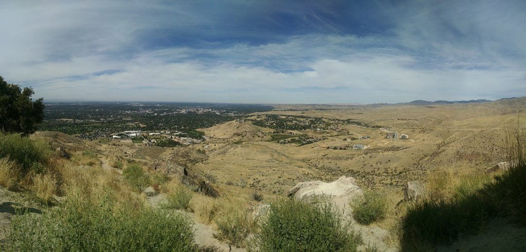 Boise City View from a Hill Top | Goodwill Car Donations