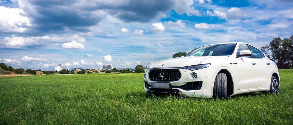 White Maserati in Dover, Delaware | Goodwill Car Donations