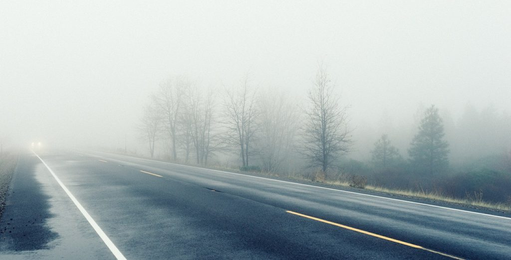 Foggy Highway in Columbia, South Carolina | Goodwill Car Donations
