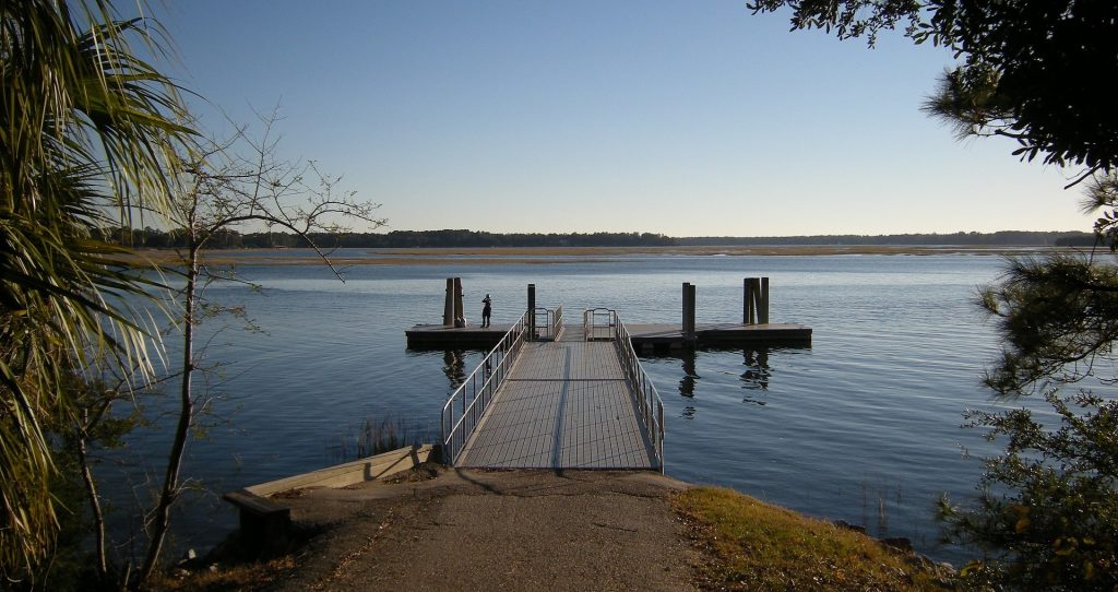 Dock on a Lake in Bluffton, South Carolina | Goodwill Car Donations