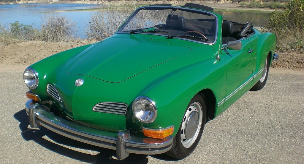 Green Oldtimer Volkswagen in Greenville, South Carolina | Goodwill Car Donations