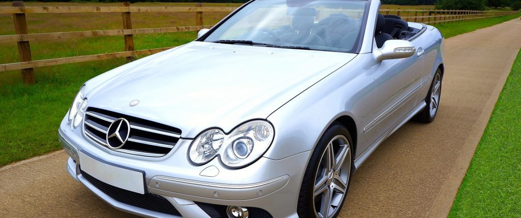 Classic Mercedes-Benz Convertible in Hyattsville, Maryland | Goodwill Car Donations