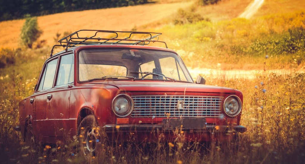 Oldtimer Car in the fields of Hyattsville, Maryland | Goodwill Car Donations