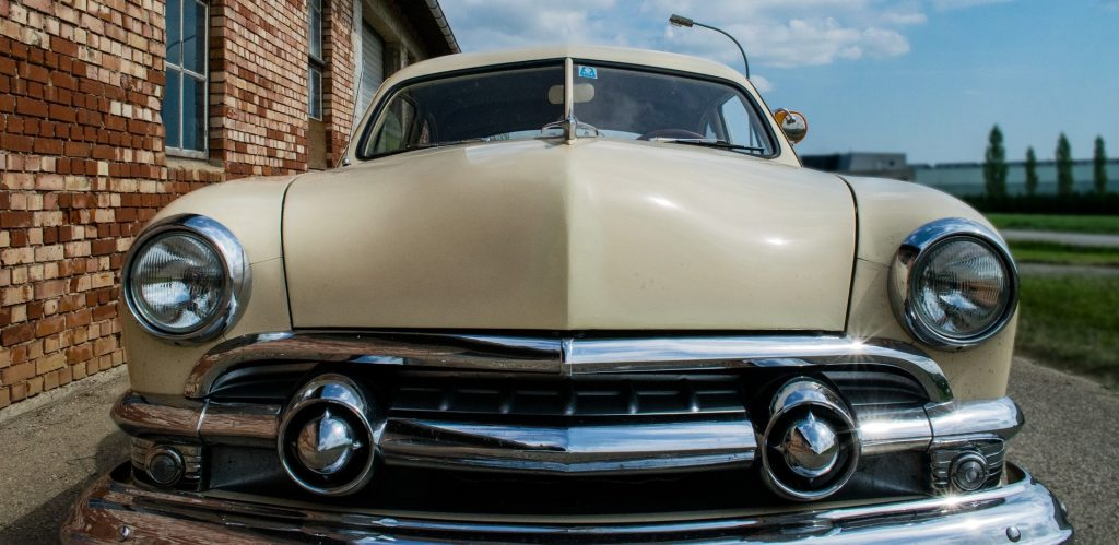 Oldtimer Car Parked in Jackson, Tennessee   Goodwill Car Donations