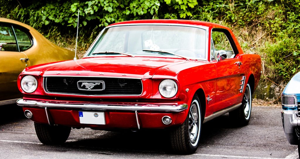 Classic Red Mustang in Jamaica, New York | Goodwill Car Donations