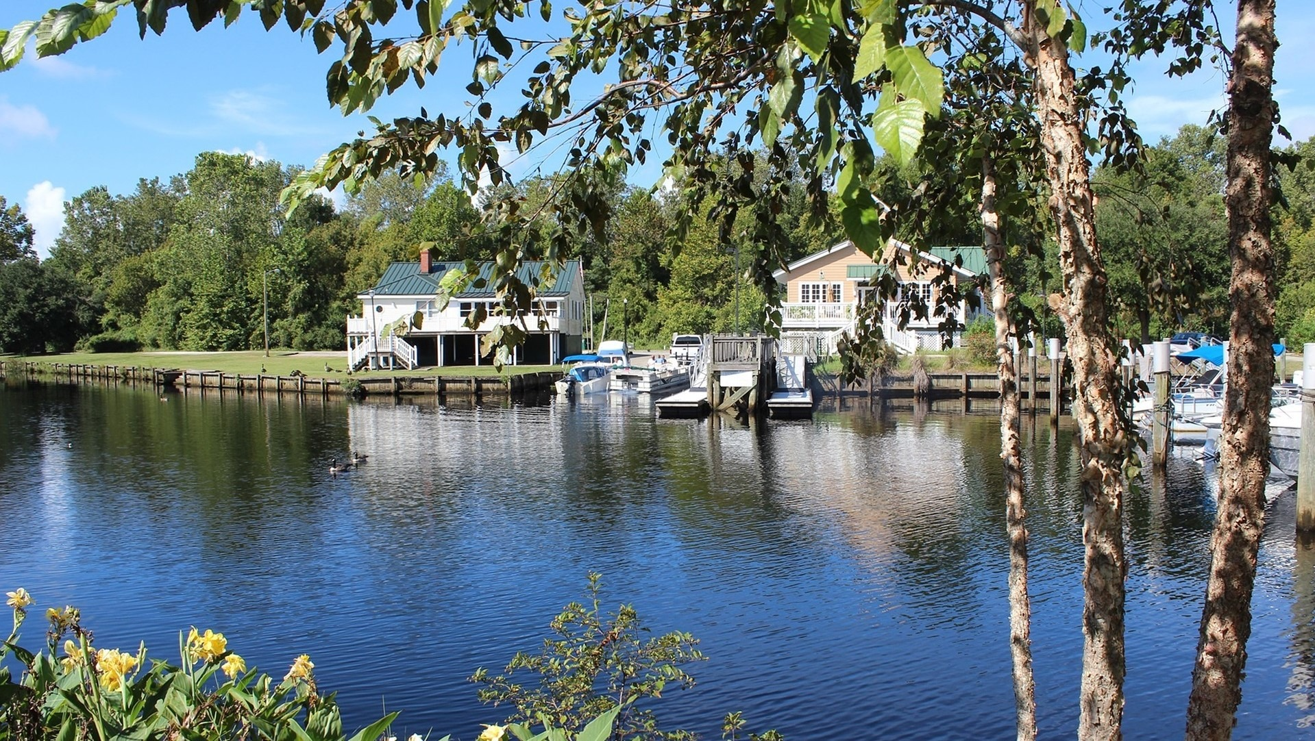 View from Lake Conway, South Carolina - GoodwillCarDonation.org