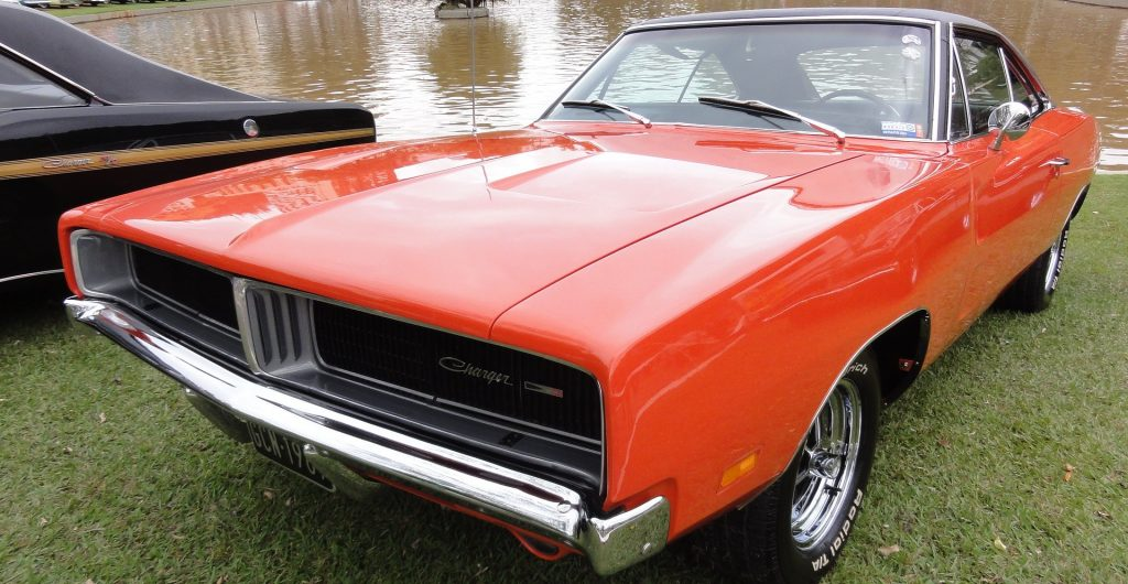 Classic Red Dodge Charger in Lake of the Woods, Virginia | Goodwill Car Donations
