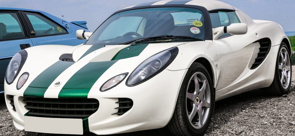 Parked Lotus Sports Car in Long Beach, New York | Goodwill Car Donations