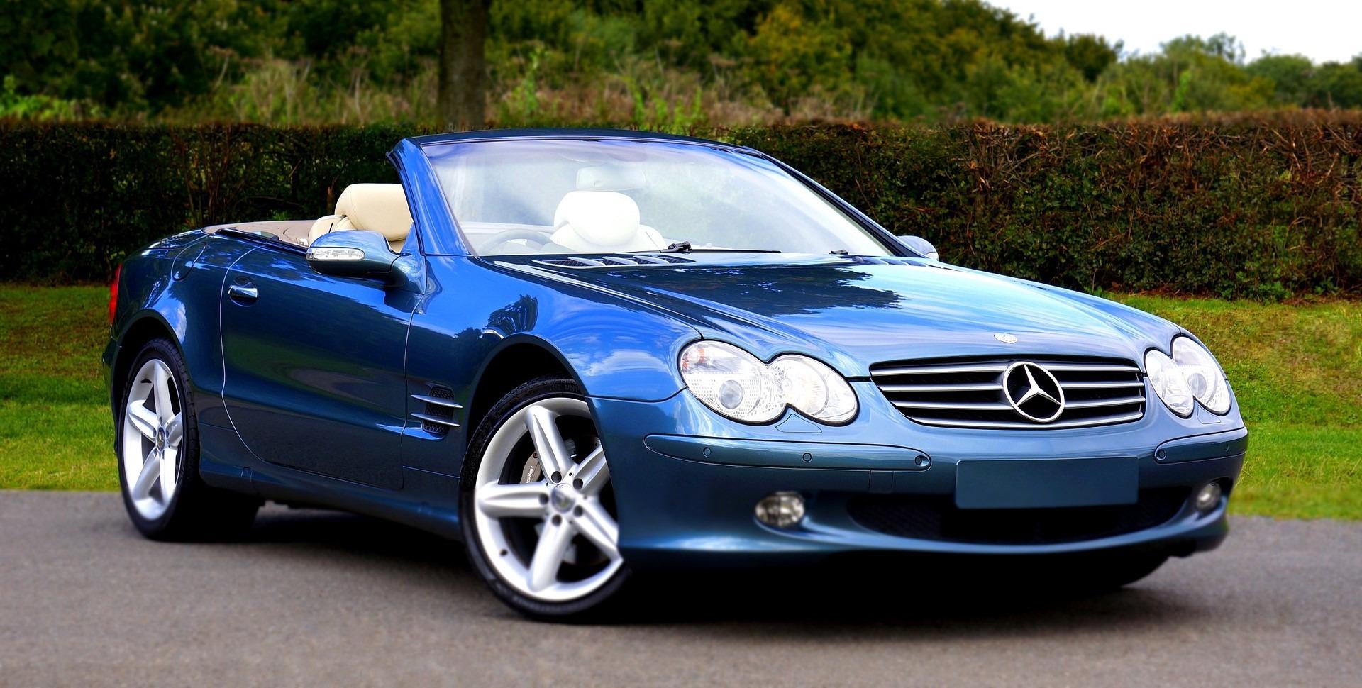 Parked Mercedez Benz in Atlantic City - GoodwillCarDonation.org