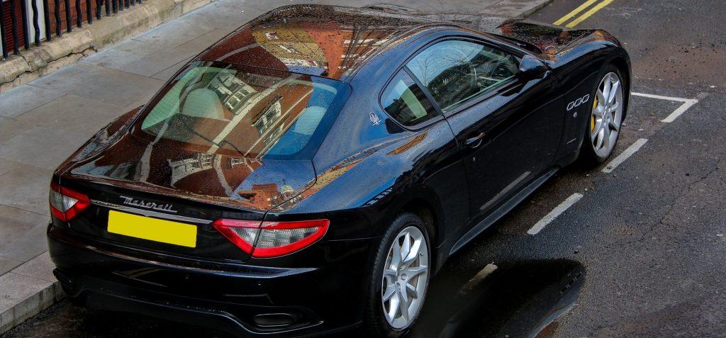 Black Maserati in Naperville, Illinois | Goodwill Car Donations