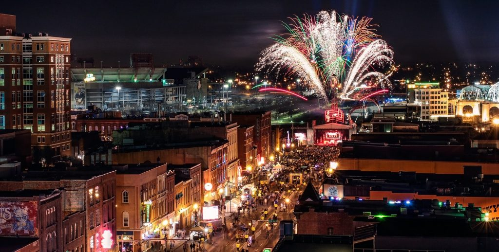 Fireworks Display at a Music Festival in Nashville | Goodwill Car Donations