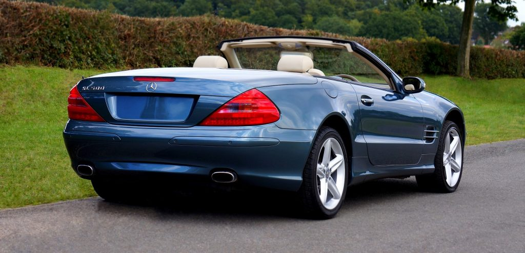 Classic Mercedes-Benz Convertible in Nashville | Goodwill Car Donations