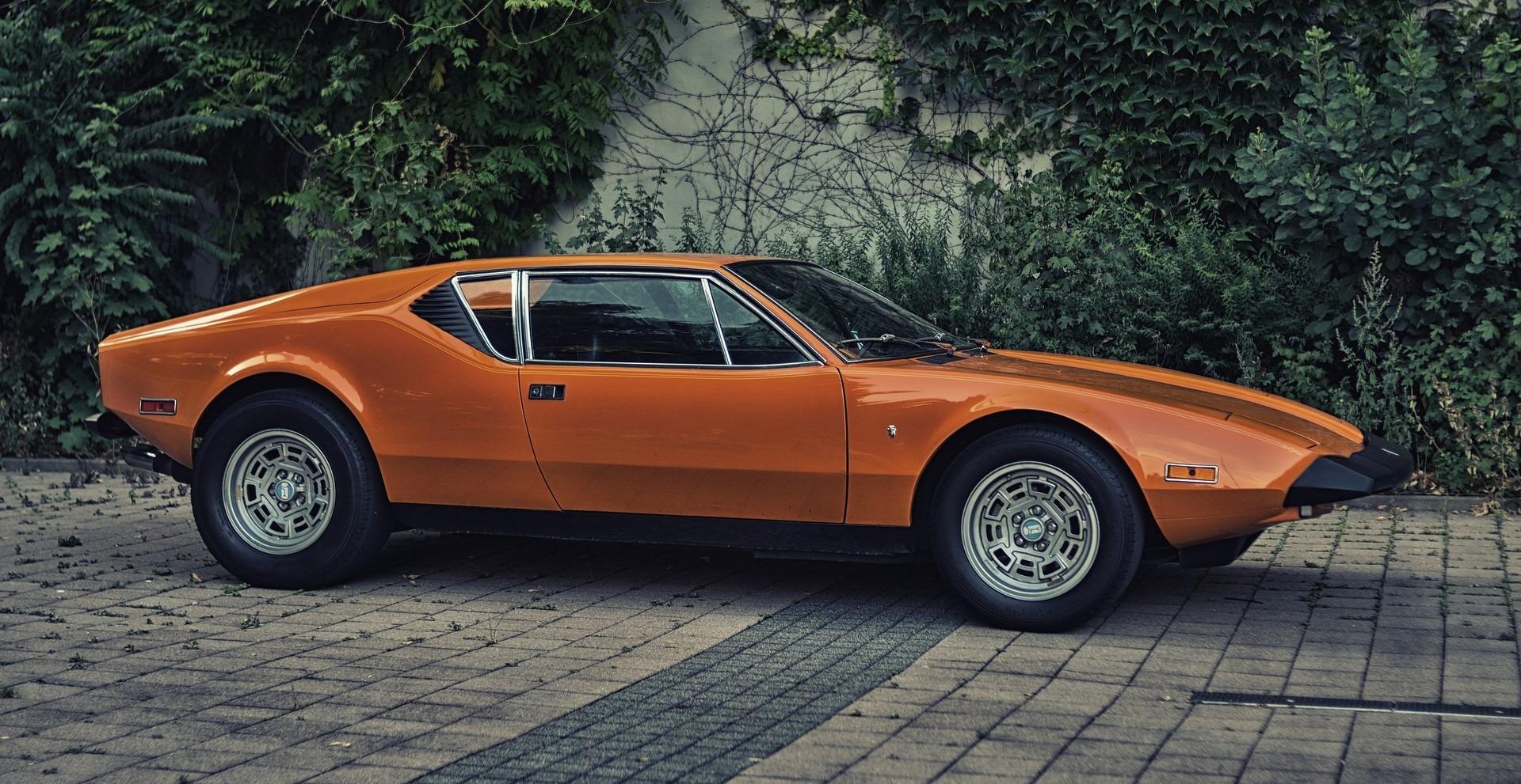 Orange Classic Vintage Car in Blaine, Minnesota - GoodwillCarDonation.org