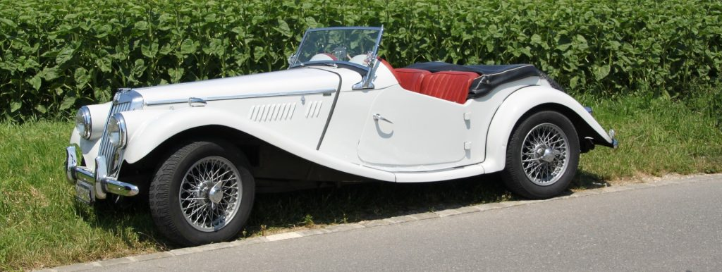 White Oldtimer Convertible in Peoria, Illinois | Goodwill Car Donations