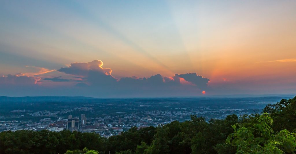 Sunset View in Reading, Pennsylvania | Goodwill Car Donations