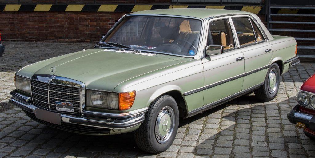 Classic Green Mercedes in Rochester Minnesota | Goodwill Car Donations