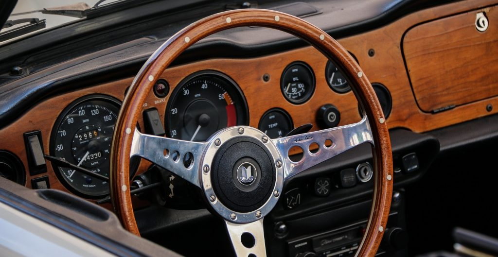 Classic Car Interior in Salisbury, North Carolina | Goodwill Car Donations