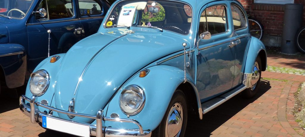 Classic Blue Oldtimer Beetle in Savage, Minnesota | Goodwill Car Donations