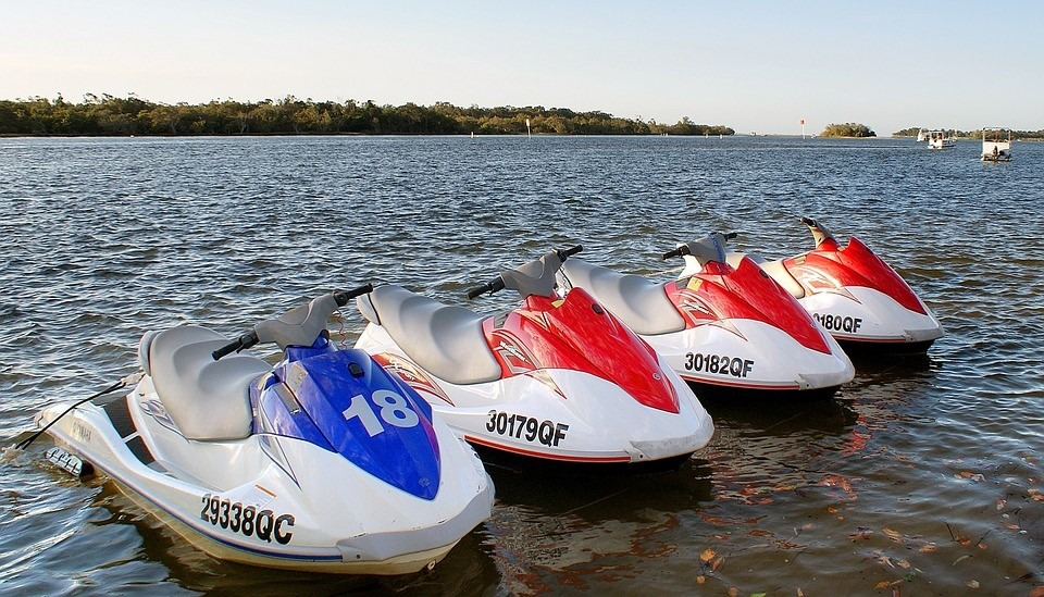 Jet Skis Sitting in Newtown, Pennsylvania Waters   Goodwill Car Donations