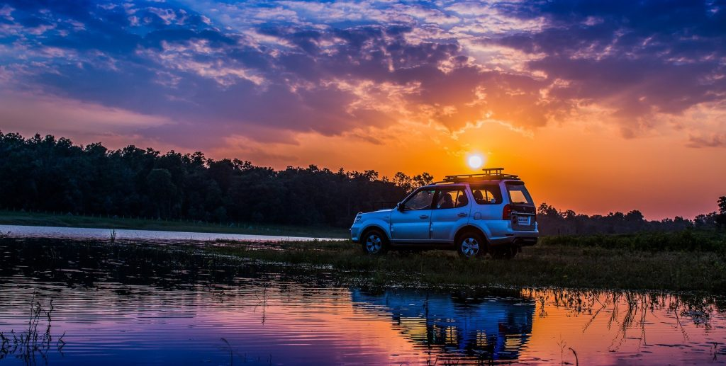 Car Under the Sunset in Stuart, Florida | Goodwill Car Donations