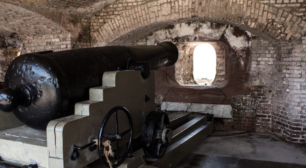 Historic Cannon at Fort Sumter, South Carolina   Goodwill Car Donations