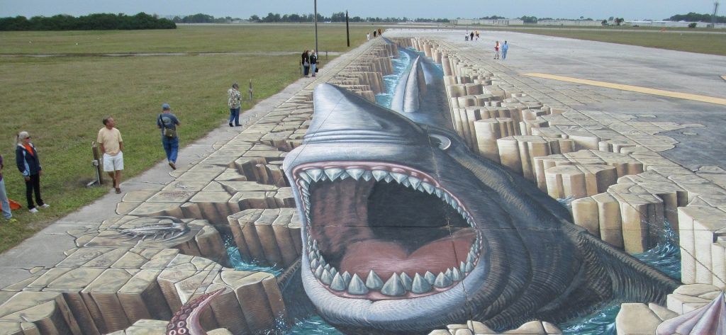 3D Street Art in Venice, Florida | Goodwill Car Donations