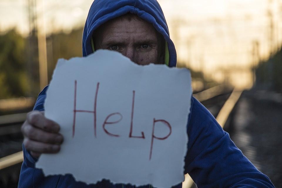 Man Seeking for Help | Goodwill Car Donations