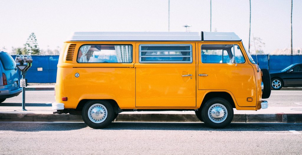 Yellow Oldtimer Van in Clarksville, Tennessee | Goodwill Car Donations