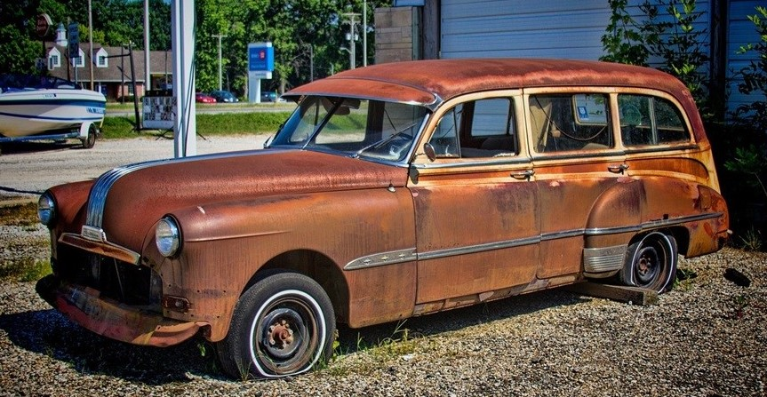 Old Car in Asheboro, North Carolina | Goodwill Car Donations