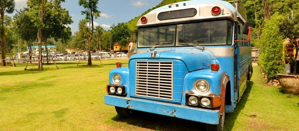 Retro Bus in Boca Raton, Florida | Goodwill Car Donations