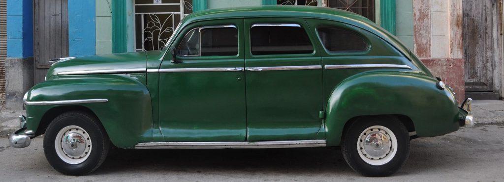 Green Oldtimer in Eden, North Carolina   Goodwill Car Donations