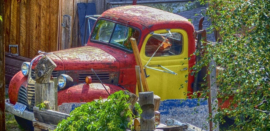 Old Truck in Elmwood Park, New Jersey | Goodwill Car Donations