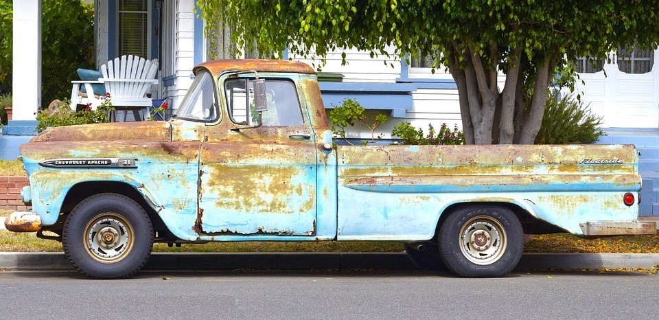 Old Truck in Glassboro, New Jersey | Goodwill Car Donations