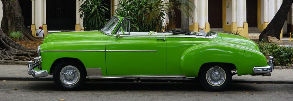 Green Vintage Car in South Orange, New Jersey   Goodwill Car Donations