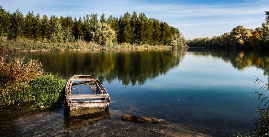 Old Boat in Autumn Season | Goodwill Car Donations