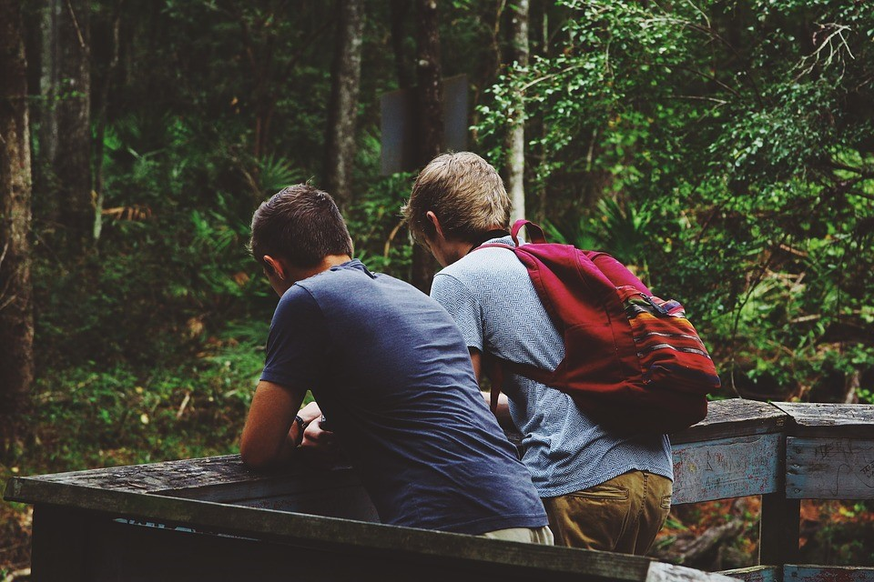 Young Guys Enjoying Nature | Goodwill Car Donations