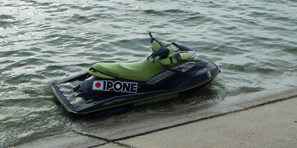 Jet Ski sitting on the waters of Kennedale, Texas | Goodwill Car Donations