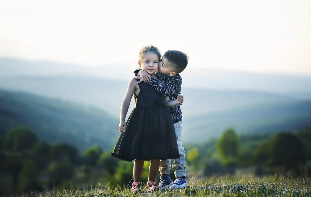 Little Kids Making Friends | Goodwill Car Donation