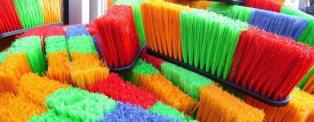 Colorful Brooms | Goodwill Car Donations
