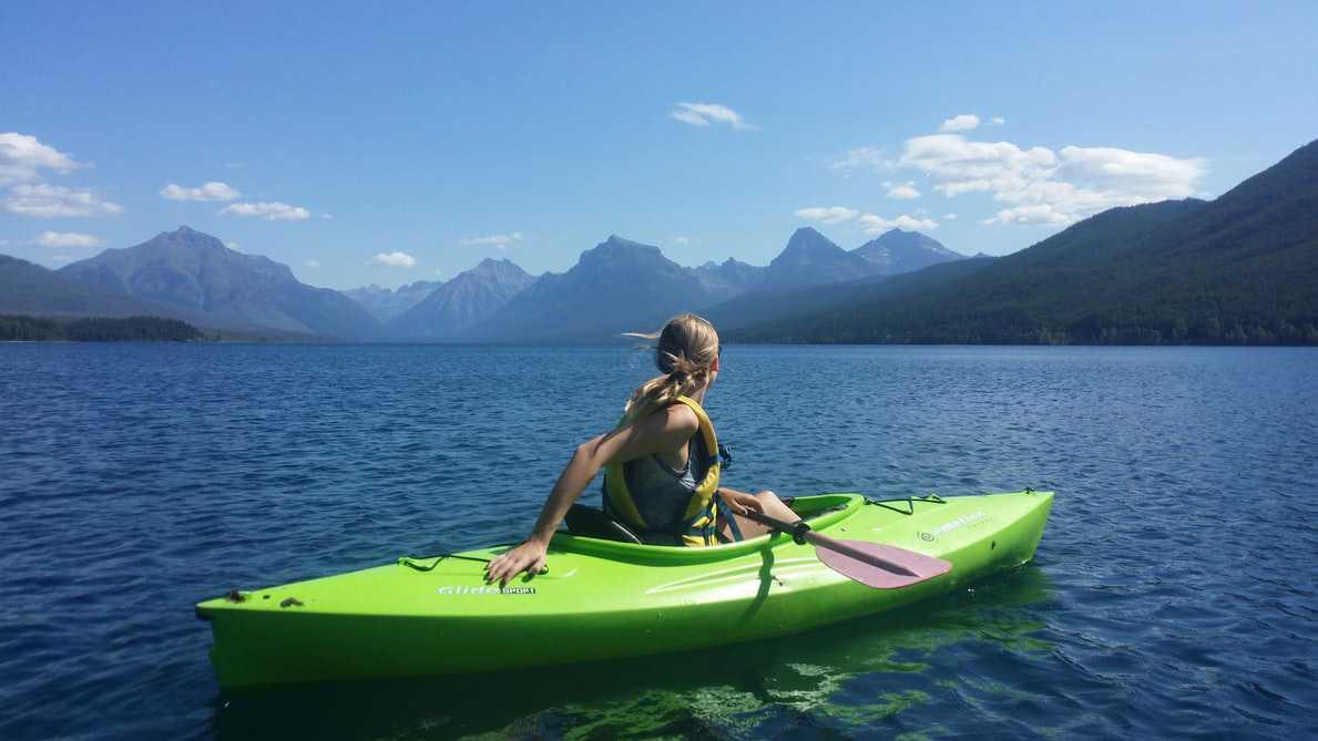 Kayaking on a Lake | Goodwill Car Donations