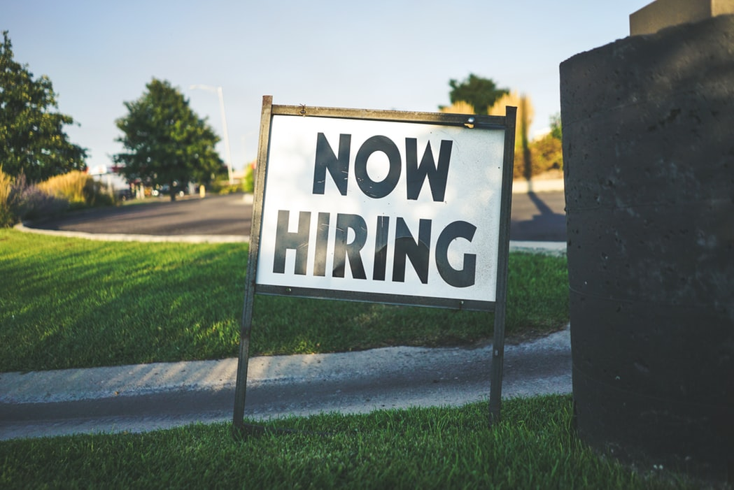 Now Hiring Sign | Goodwill Car Donations
